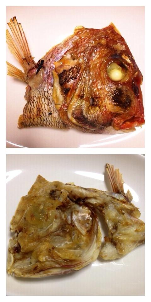 天然真鯛塩焼き