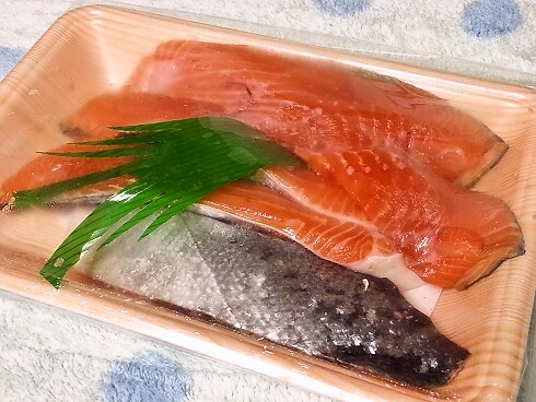 幻の高級魚 サクラマスの切り身が届きました